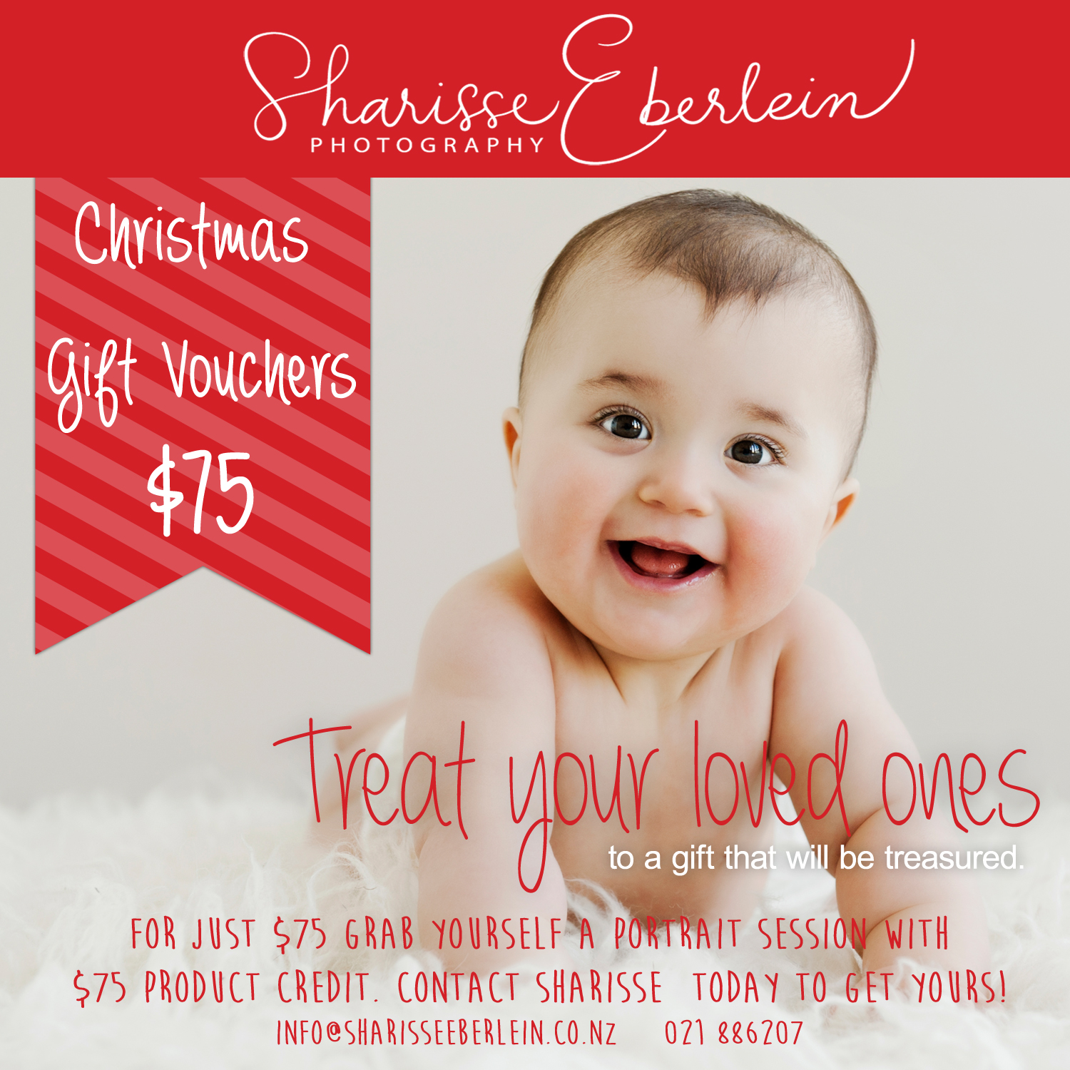 Christmas Gift Voucher - photography session